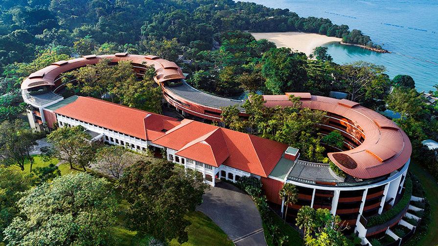 Отель Capella на острове Сентоса