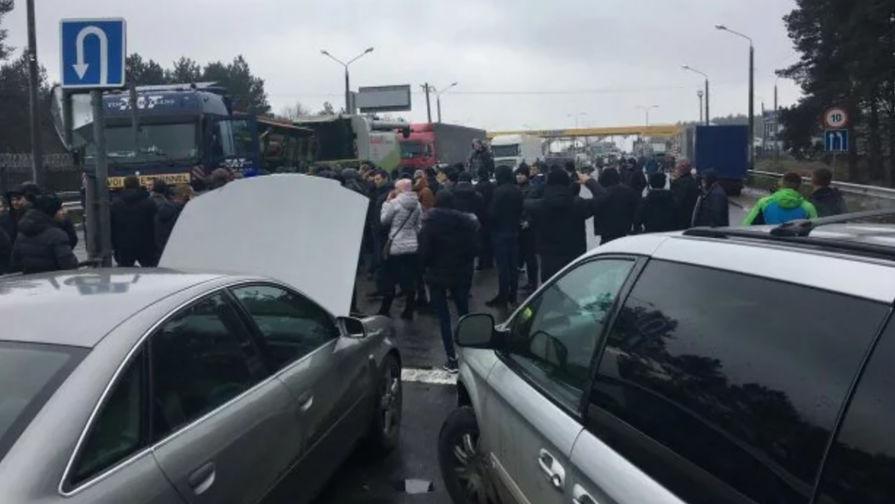 Майдан машин:
