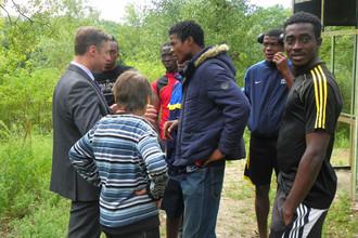 Возможно, именно в таких условиях футболисты сборной Эритреи договариваются о политическом убежище