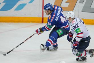 Сибиряки не справились с атакой СКА