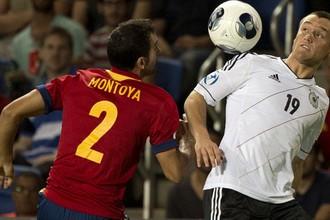 Сборная Испании во второй раз дожала соперника в концовке