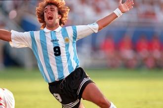 Габриэль Батистута — победитель первого Кубка Конфедераций в составе сборной Аргентины