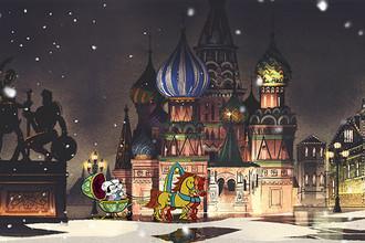 Кадр из эпизода «Большой балет» мультсериала «Микки-Маус» компании Disney