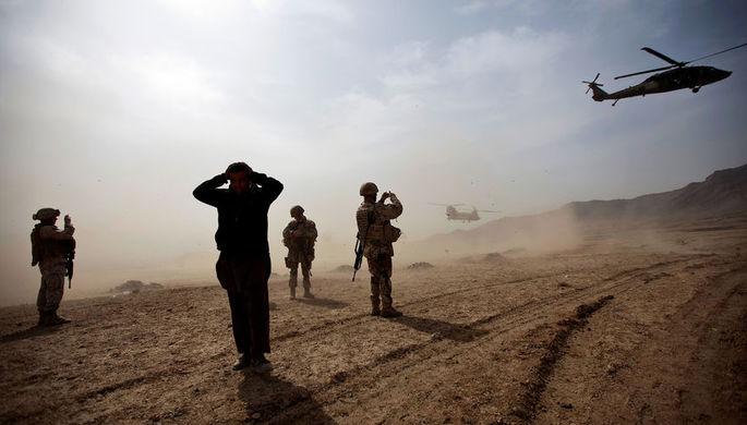 При ошибочном авиаударе погибли 17 полицейских в Афганистане