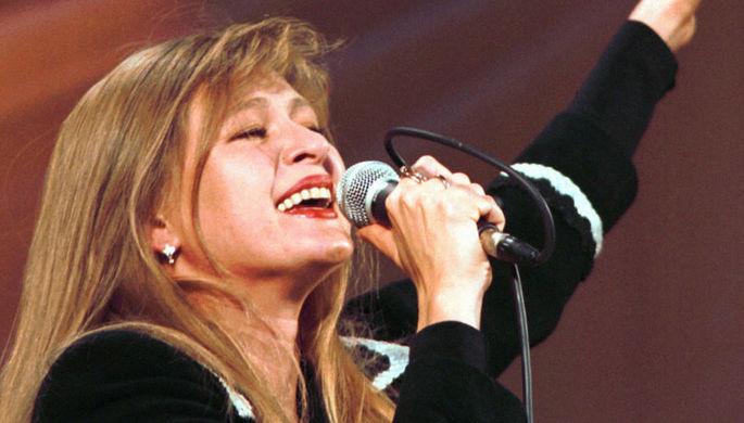 Певица Вика Цыганова, 1994 год