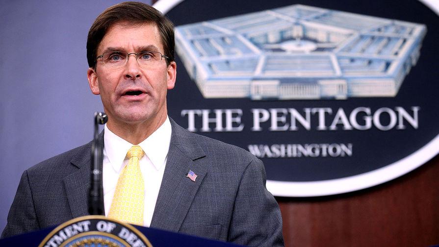«Материал вводит в заблуждение»: Эспер не уйдет из Пентагона