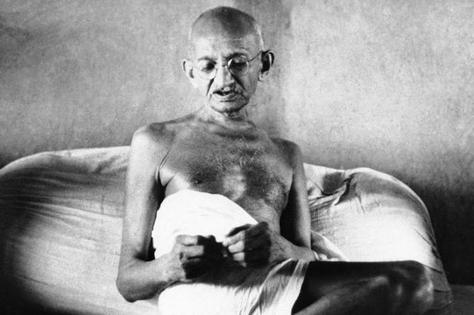 Махатма Ганди, 1942 год