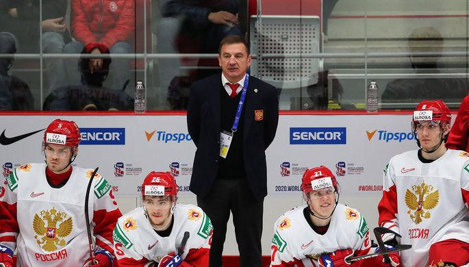 Валерий Брагин на тренерском мостике