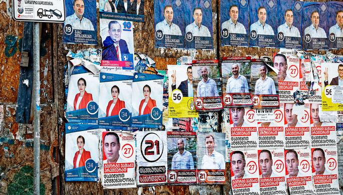 Ставка на Саакашвили: с чем Грузия подошла к парламентским выборам