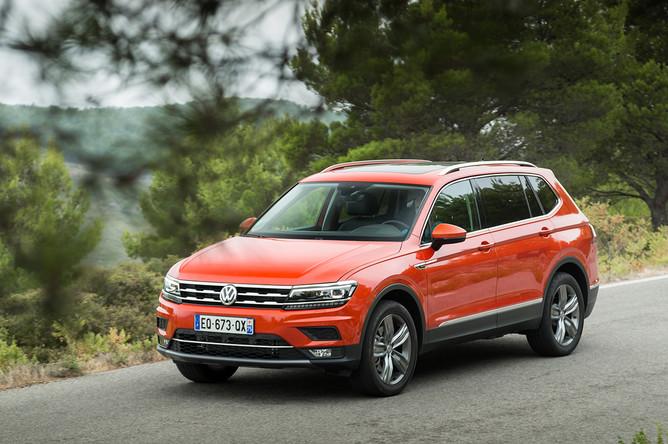 Volkswagen Tiguan Allspace. Первыми оценили Tiguan Allspace китайские покупатели – семиместная версия кроссовера под названием Tiguan L продается в Китае с декабря прошлого года