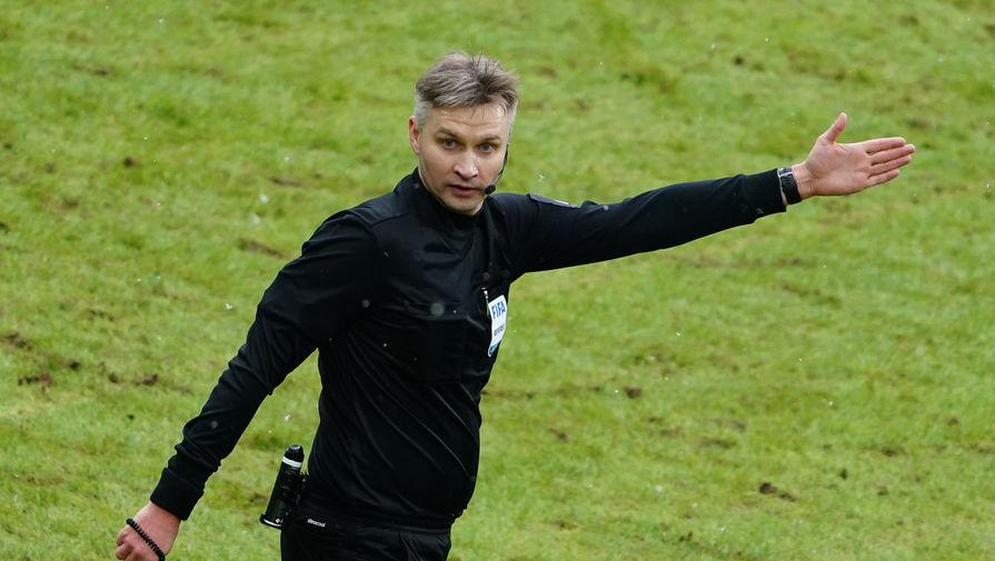 Российский футбольный судья Сергей Лапочкин
