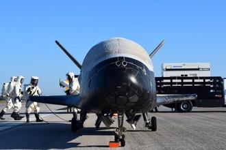 Суборбитальный многоразовый самолет-разведчик ВВС США X-37B Orbital Test Vehicle