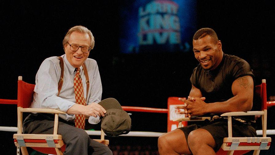 Ларри Кинг и Майк Тайсон, 1995 год