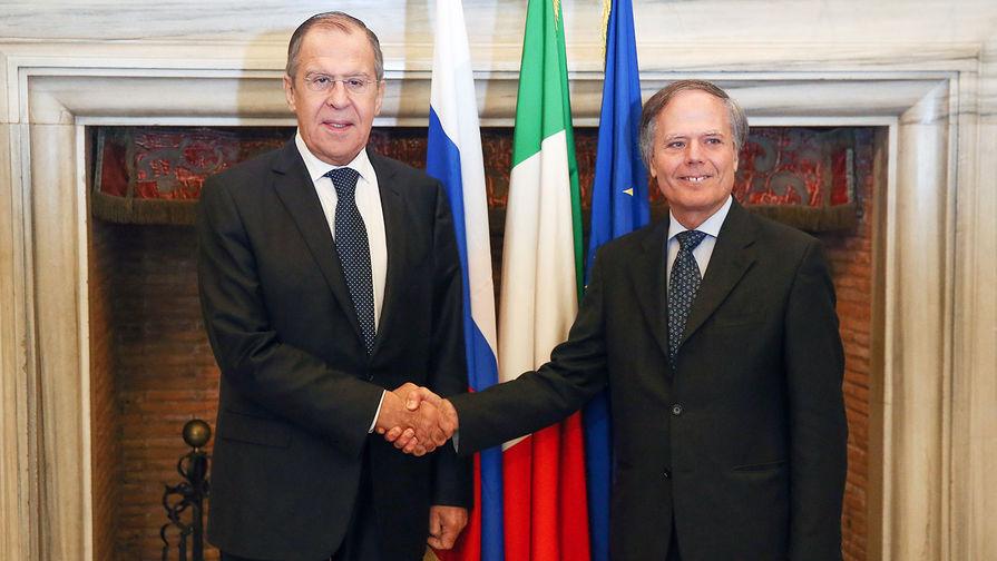 Лавров провел пресс-конференцию по итогам визита в Рим