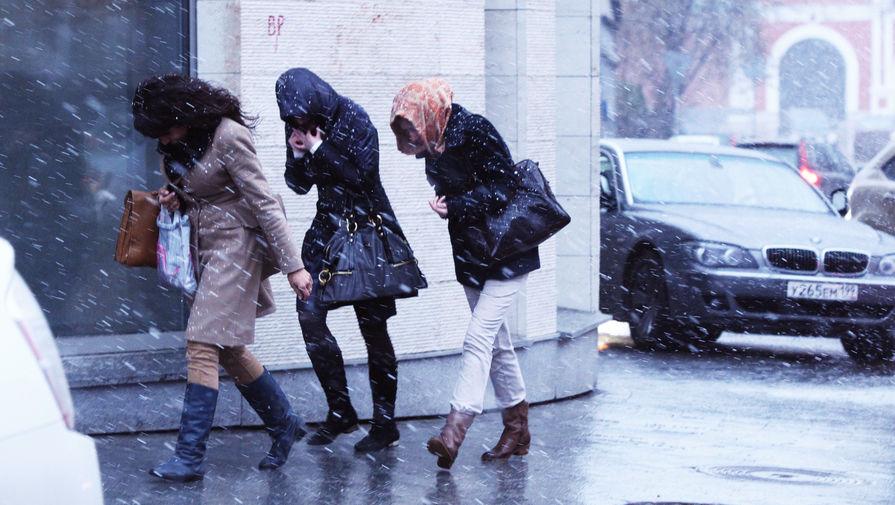 Жителей Москвы предупредили о сильном ветре и гололедице