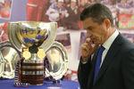 Владимир Маркин передотчетно-выборной конференцией Федерации хоккея России, 2014год