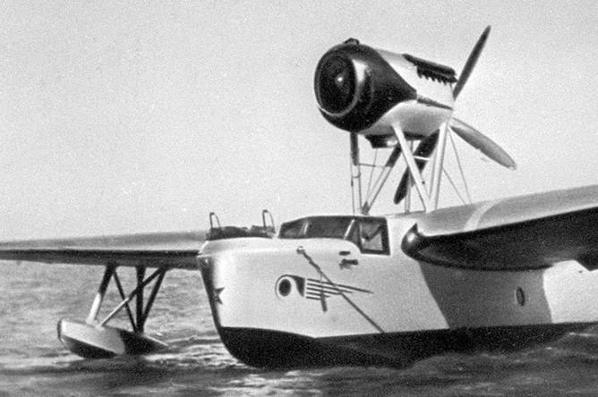 Летающая лодка МБР-2 (морской ближний разведчик)