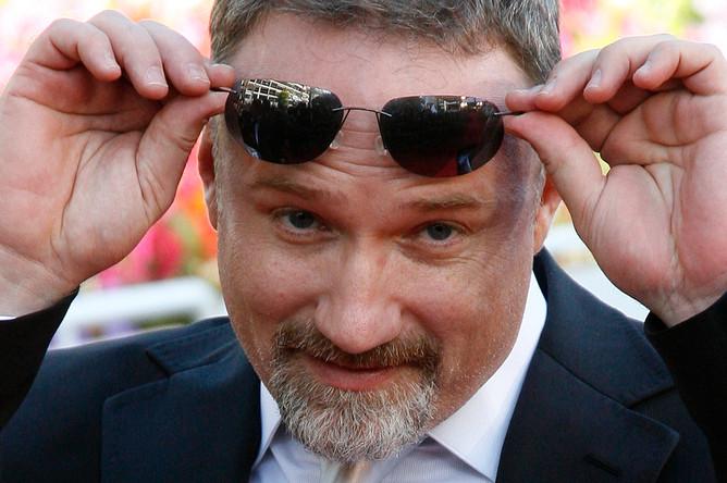 Режиссер Дэвид Финчер на Каннском кинофестивале, 2007 год