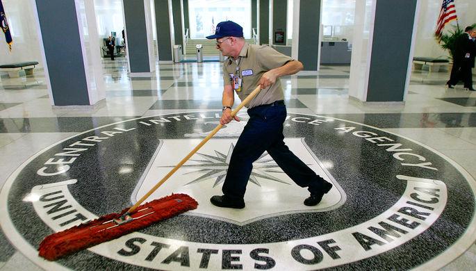 Уборка в штаб-квартире Центрального разведывательного управления в Лэнгли