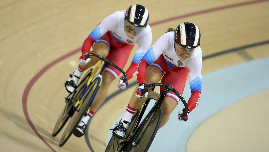 Российские велосипедистки Анастасия Войнова и Дарья Шмелева стали серебряными призерами в командном спринте на велотреке. В финале они показали время 32,401 секунды и уступили команде Китая (32,107).