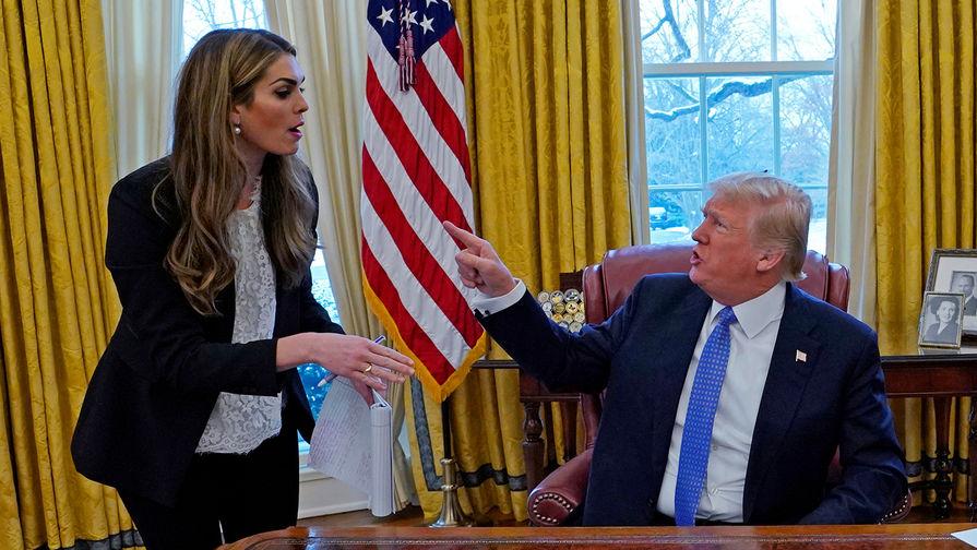 Помощница Трампа даст показания по делу против президента США