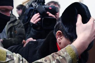 Бывший зампред правительства Дагестана Раюдин Юсуфов в Басманном суде Москвы, 6 февраля 2018 года