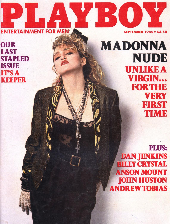 Мадонна на обложке Playboy, 1991 год