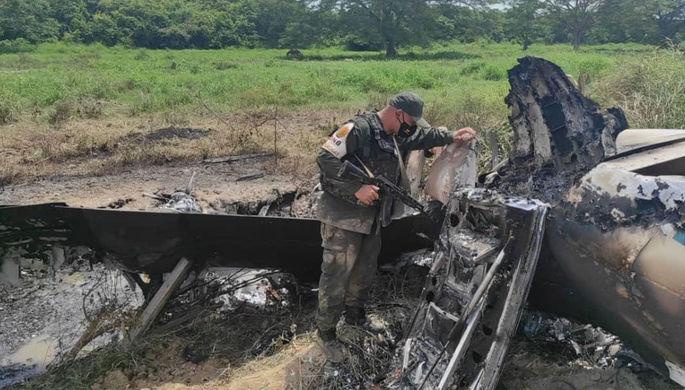 Борьба с наркотрафиком: Венесуэла сбила самолет США