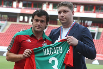 Алан Касаев в «Локомотиве»
