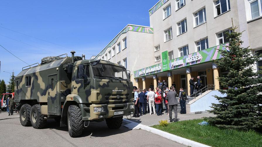 Напавший на школу в Казани был задержан находившимся в отпуске полицейским