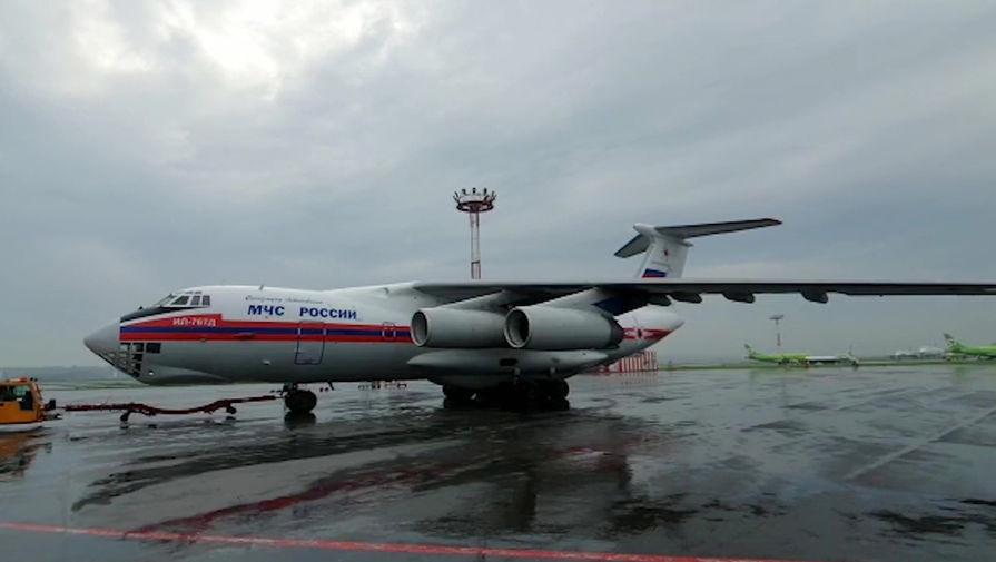 Спецборт Ил-76 МЧС России доставил российских граждан из аэропорта вблизи сектора Газа в Москву, 27 мая 1971 года