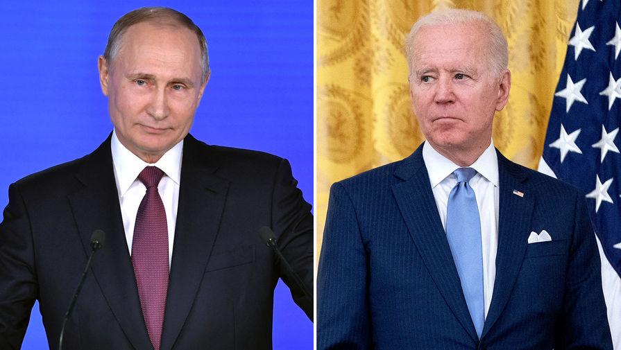 В Кремле объяснили отказ от совместной пресс-конференции Путина и Байдена