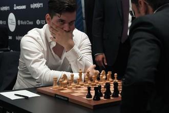 Гроссмейстер Ян Непомнящий (Россия) на этапе Гран-при Москвы по шахматам.