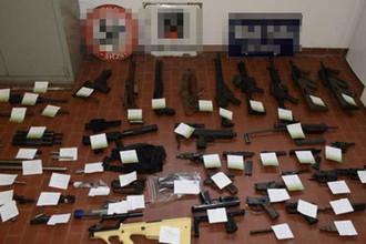 Донбасс по-итальянски: у вербовщиков из Италии изъяли оружие