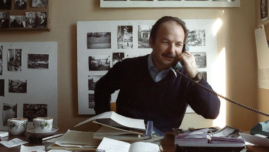 Главный режиссер Московского театра драмы и комедии на Таганке Николай Губенко, 1987 год