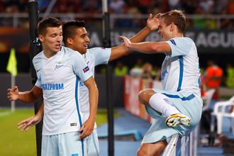 Александр Кокорин оформил дубль в ворота «Вардара»