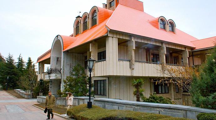 Правительственная дача «Заря» в Форосе. Фото: ТАСС