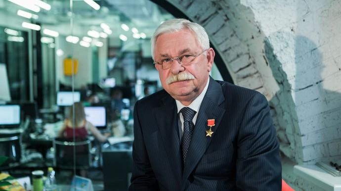 Александр Руцкой в редакции «Газеты.Ru». Фото: Артем Сизов/«Газета.Ru»