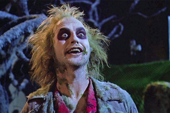 "Кадр из фильма ""Битлджус"" (1988)"
