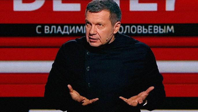 «Поздно спохватились»: Соловьев прокомментировал «ликвидацию» Украины