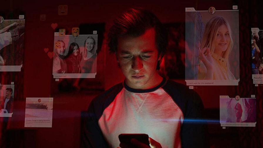 Кадр из фильма «Социальная дилемма» (2020)
