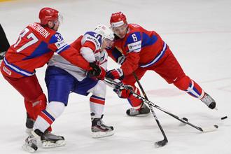 Патрик Торесен вновь, как и год назад, доставил много проблем сборной России
