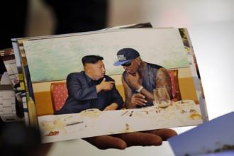 Родман своеобразно похвалил Ким Чен Ына: «Хотел бы кого-то разбомбить, уже разбомбил бы»