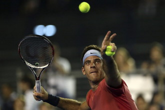 Теннисист Хуан Мартин дель Потро обошел футболиста «Барселоны» Лионеля Месси в споре за звание лучшего спортсмена Аргентины 2013 года
