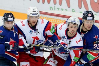 СКА уступил «Локомотиву» во втором матче серии