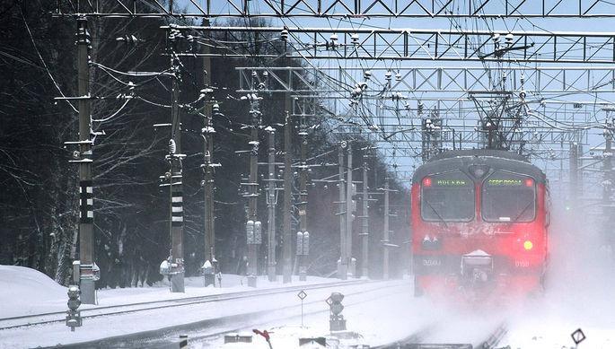 СК заинтересовался смертью москвичей под колесами электрички