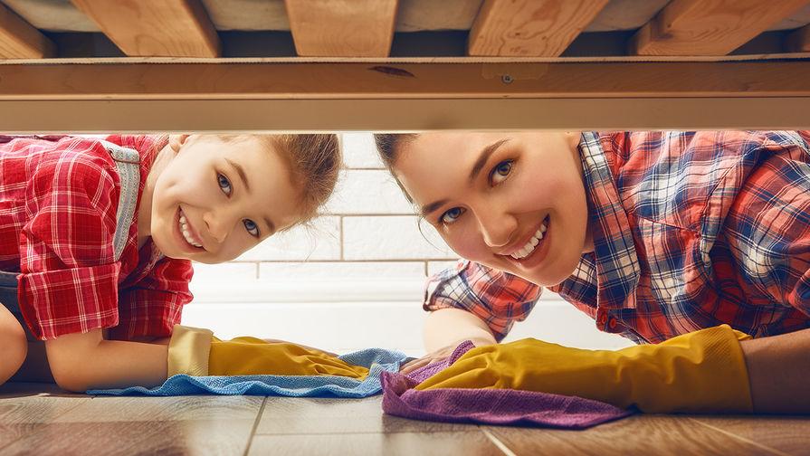О том, что можно узнать о ребенке, пока убираешь квартиру