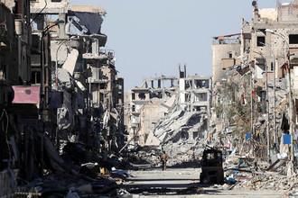 Ракка, Сирия. 19 октября 2017