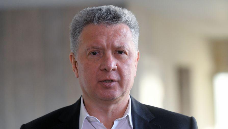 Дмитрий Шляхтин сразу после объявления об уходе в отставку