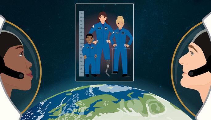 Европа отправит в космос инвалидов
